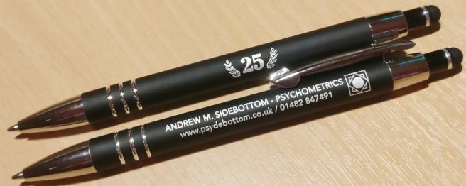 Andrew M. Sidebottom Ltd - 25 Years
